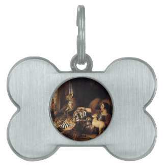 Isaac van Amburgh and his Animals by Edwin Henry L Pet Name Tag