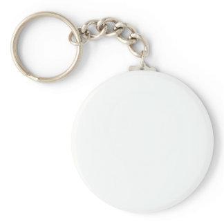 BASIC ROUND BUTTON KEY RING
