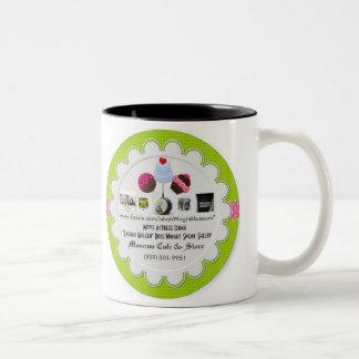 Ishah Wright Museum Logo Two-Tone Coffee Mug