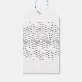 islamic-pattern gift tags
