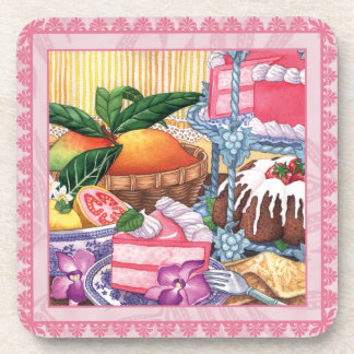 Island Cafe Guava Chiffon & Mango Coaster