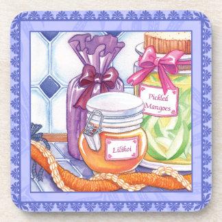 Island Cafe Lilikoi Jelly and Pickled Mangoes Coaster