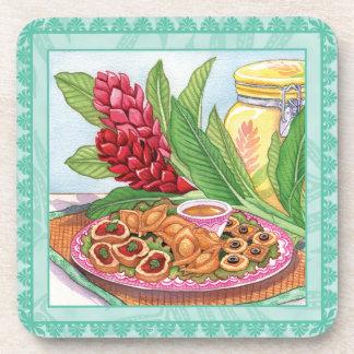 Island Cafe Pupus Coaster