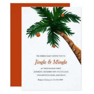 Christmas Party Invites from Zazzle