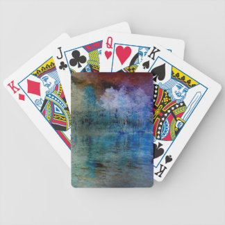 Island in the Storm Bicycle Playing Cards
