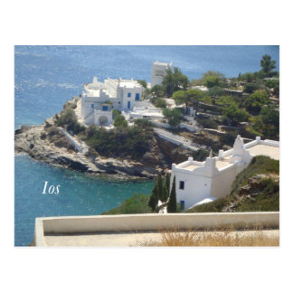 Island Ios..! Postcard