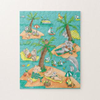Island Magic Puzzle