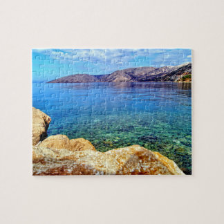 Island of Krk in Croatia Jigsaw Puzzle