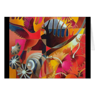 """""""ISLAND TREASURES II"""" GREETING CARD"""