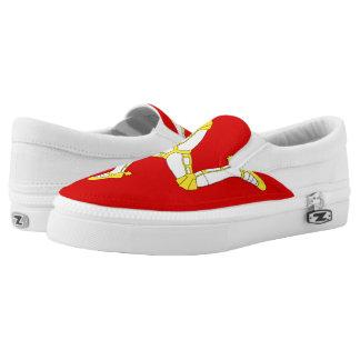 Isle of man slip on shoes