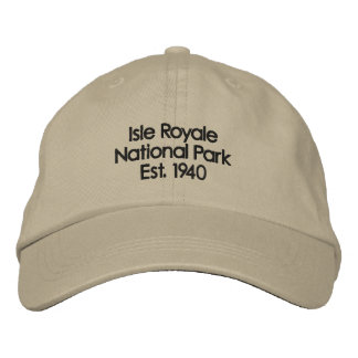 Isle Royale Hat Baseball Cap