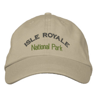 Isle Royale National Park Embroidered Hats