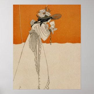 Isolde, Beardsley, Aubrey Poster