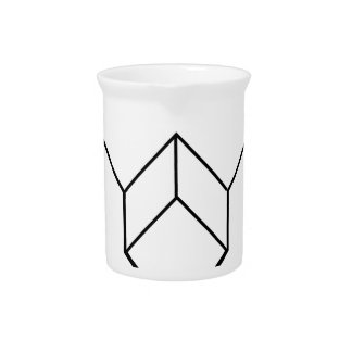 Isometric object- architectural-axonometric view drink pitcher