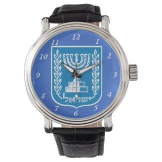 Israel Coat of Arms Custom Watch