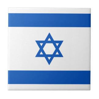 Israel Flag Ceramic Tile