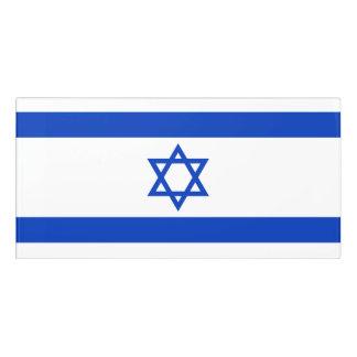 Israel Flag Door Sign
