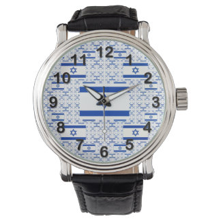 Israel Flag - Star of David -  in Layers Watch