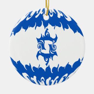 Israel Gnarly Flag Christmas Ornament