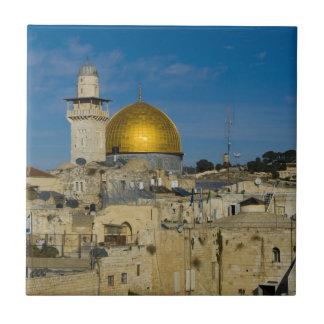 Israel, Jerusalem, Dome of the Rock Tile