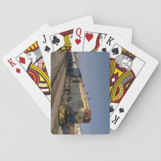Israel, Ry EMD G12 with train_Trains of the World Playing Cards