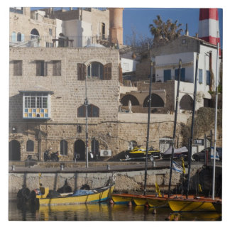 Israel, Tel Aviv, Jaffa, Jaffa Old Port Tile