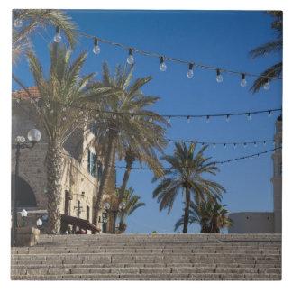 Israel, Tel Aviv, Jaffa, stairs, Old Jaffa Tile