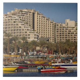 Israel, The Negev, Eilat, Red Sea beachfront 3 Tile