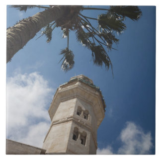 Israel, West Bank, Bethlehem, Mosque of Omar Tile