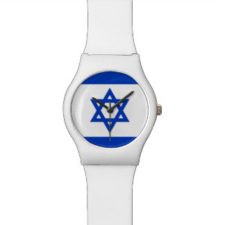 Israeli Flag Ladies' / Girls' Watch - Customize!