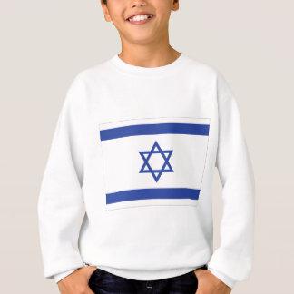 israeli Flag Sweatshirt