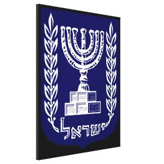Israel's Emblem - Knesset Version Canvas Print