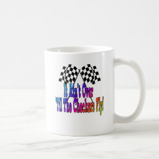 It Ain't Over 'Til The Checkers Fly Mug