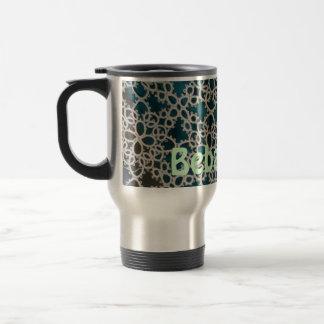 It drinks - me stainless steel travel mug