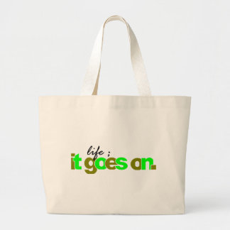 it goes on bags