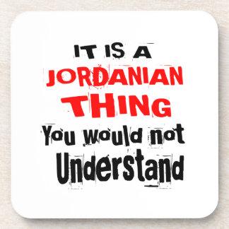 IT IS JORDANIAN THING DESIGNS COASTER
