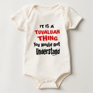IT IS TUVALUAN THING DESIGNS BABY BODYSUIT
