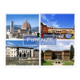 IT Italia - Firenze - Postcard