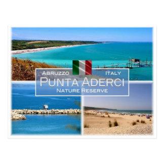 IT Italy - Abruzzo - Punta Aderci - Postcard