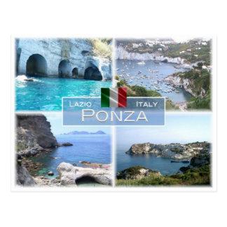 IT Italy - Lazio - Ponza - Postcard