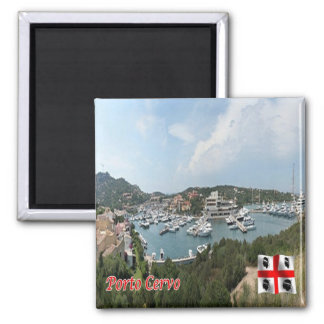 IT - Italy - Porto Cervo - The Port Square Magnet