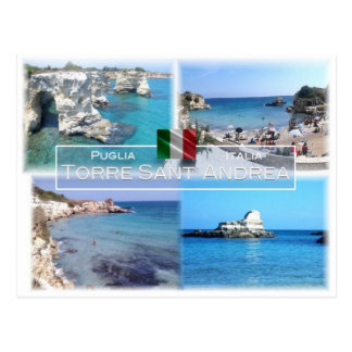 IT Italy - Puglia - Apulia - Torre Sant' Andrea - Postcard