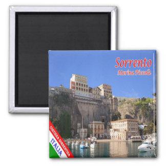 IT - Italy - Sorrento Marina Piccola Square Magnet