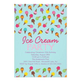 It s a Summer Ice Cream Party Invitation