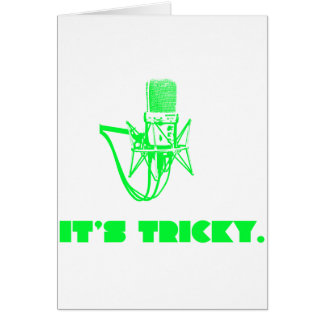 It s Tricky Greeting Card