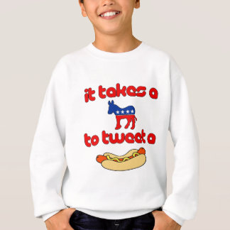It Takes a Jackass (Democrat) To Tweet A Weiner Sweatshirt