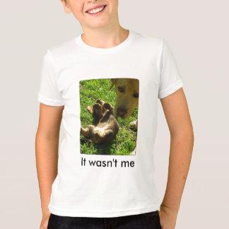 It wasn't me t-shirts