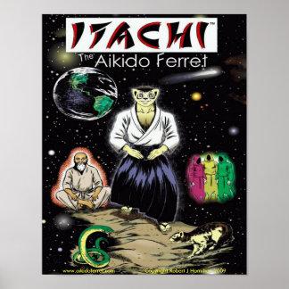 Itachi Color Cover 1 Poster