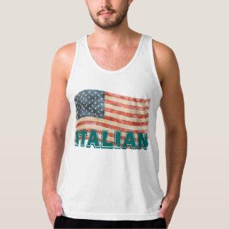 Italian American Vintage Look Tanks