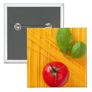 Italian Cuisine 15 Cm Square Badge